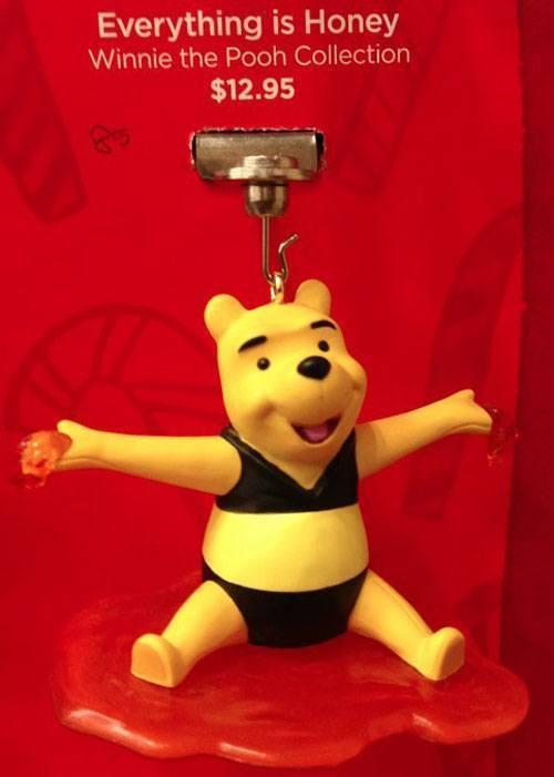 Bikini Pooh Ornament