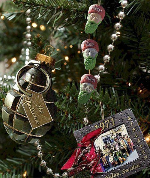 Bin Laden Christmas Decoration