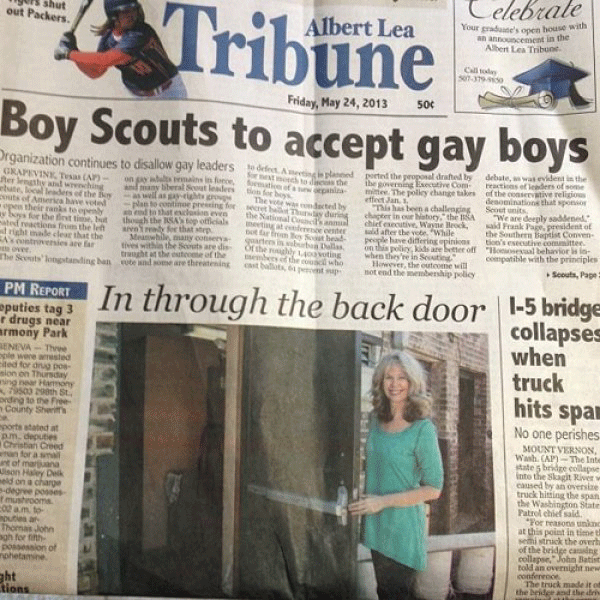Boy Scouts Gay Boys
