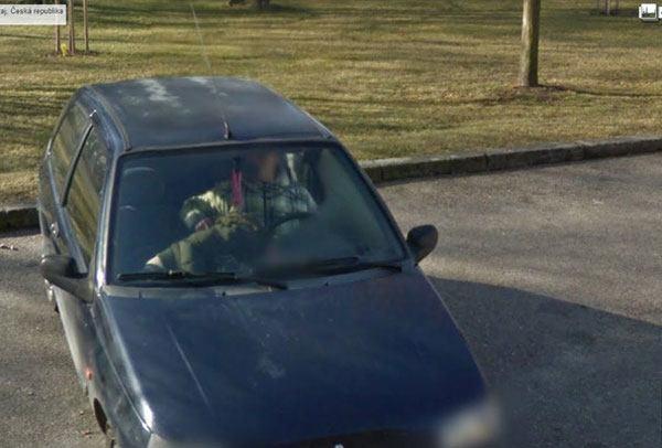 Car BJ Google Street View