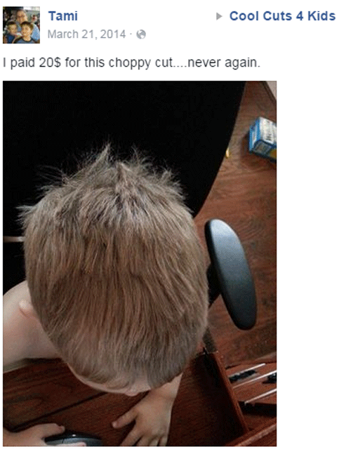 Choppy Cut