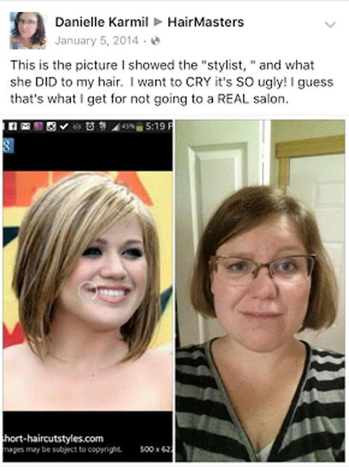 Crying Haircut Disaster