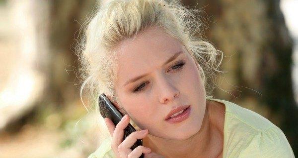 Dumped Girl Phone