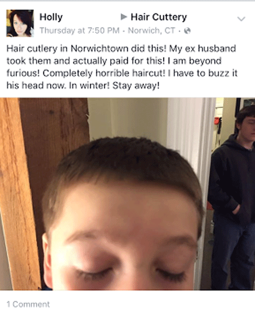 Furious Haircut Disaster