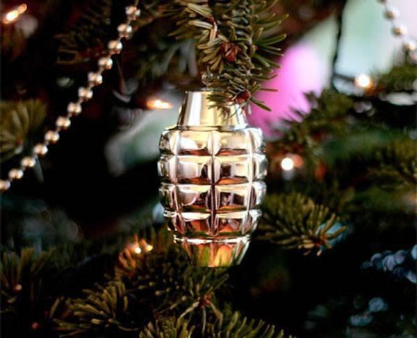 Grenade Ornament