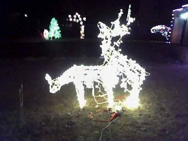 Humping Deer