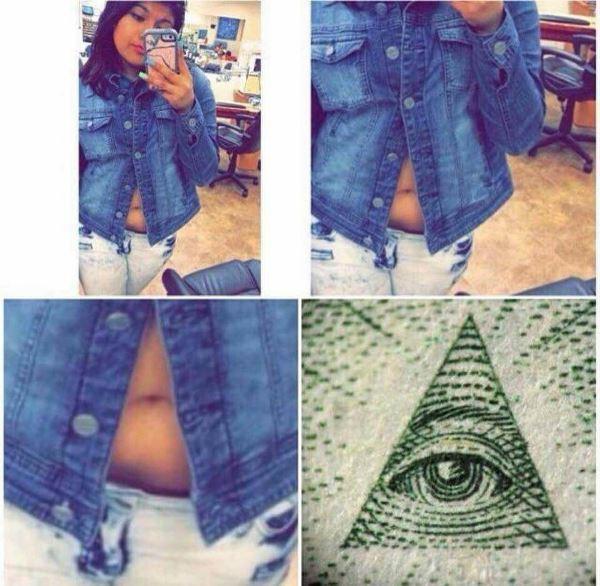 Illuminati Stomach