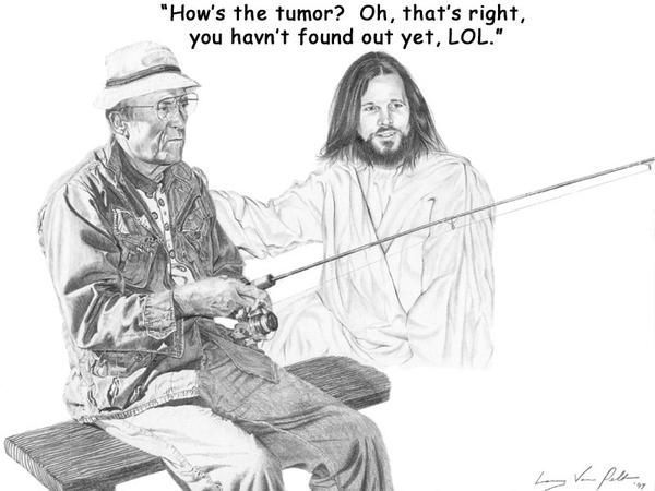 Jesus Is A Jerk Tumor