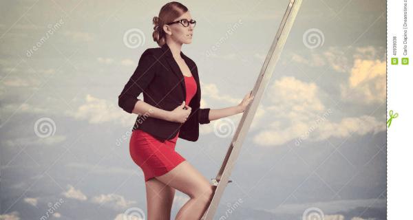 Ladder Woman
