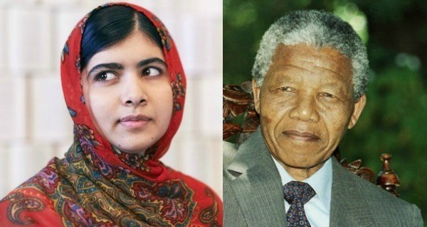 Malala Mandela Nobel Prizes