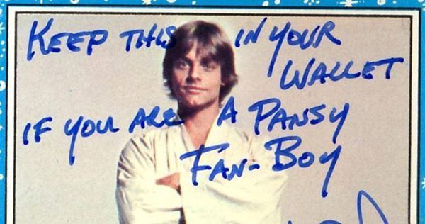 Mark Hamill Cards