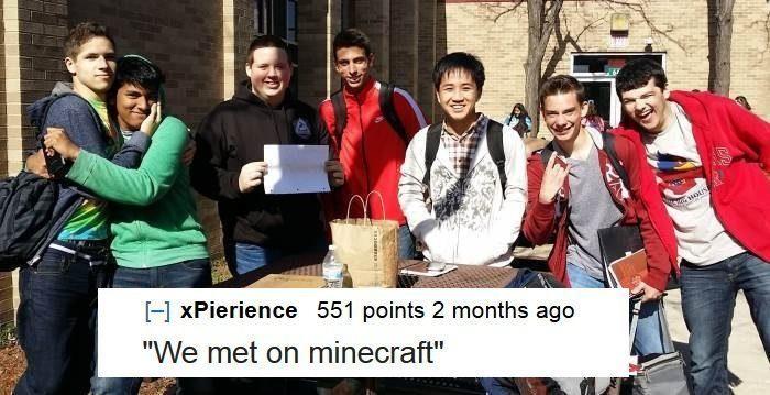 Minecraft Friends