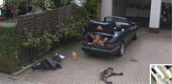 Naked Man In Trunk