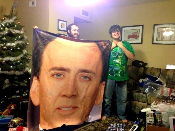 Nick Cage Blanket