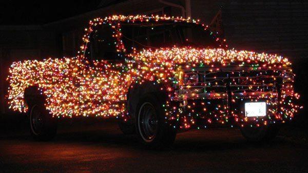 Pickup Christmas Decorations