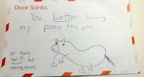 Pony Envelope