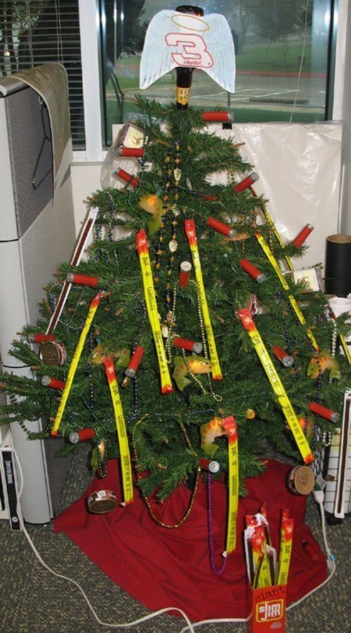 redneck tree decorations