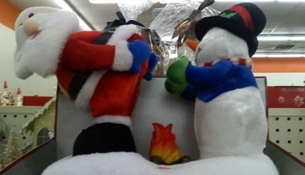 Santa Warming Buns