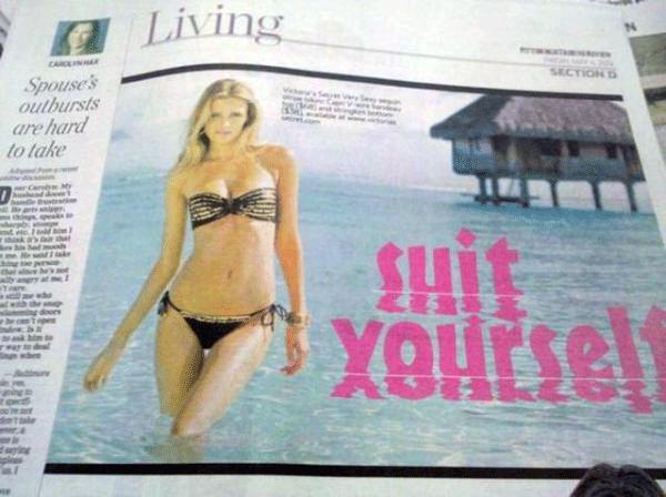Shit Yourself Headline Fail
