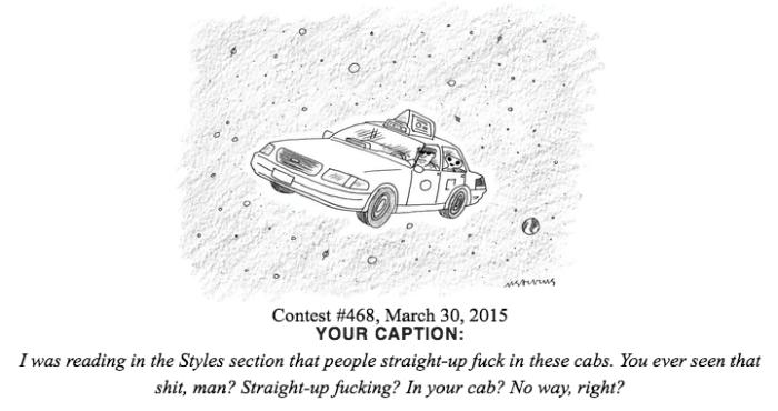 Shitty New Yorker Cartoon Captions