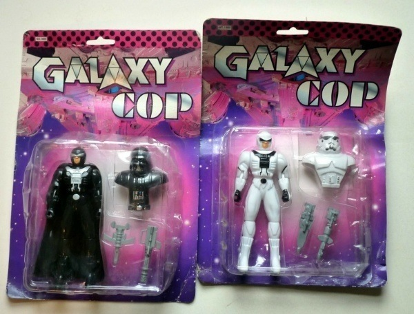 Star Wars Bootleg Galaxy Cop