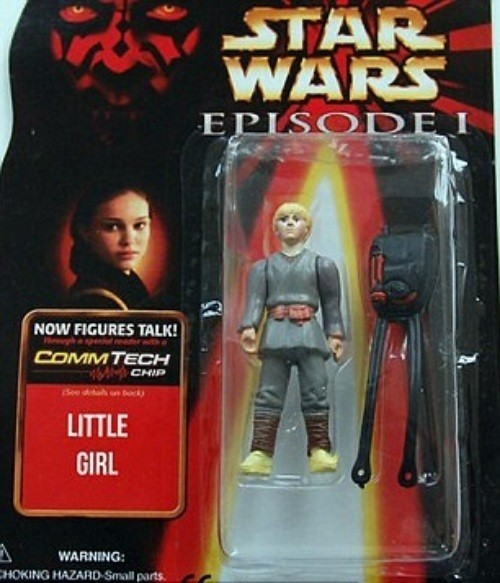 Star Wars Bootleg Little Girl