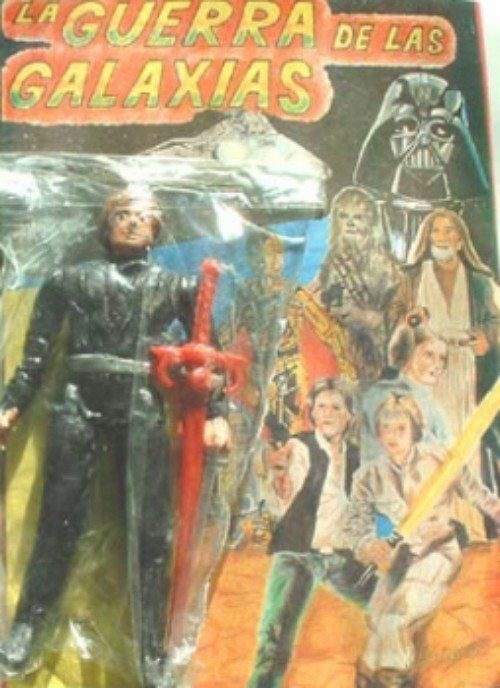 Star Wars Bootleg Luke