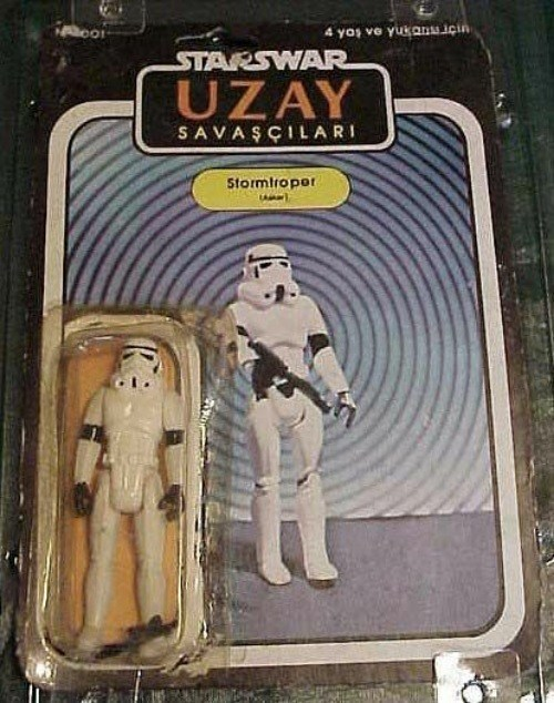 Star Wars Bootleg Uzay Storm Trooper