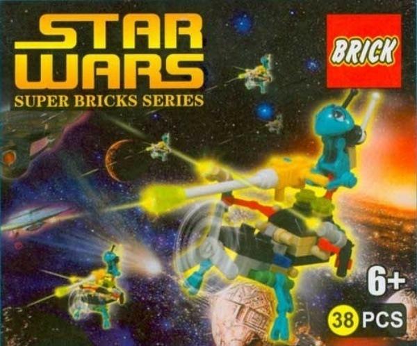 Star Wars Lego Knockoff