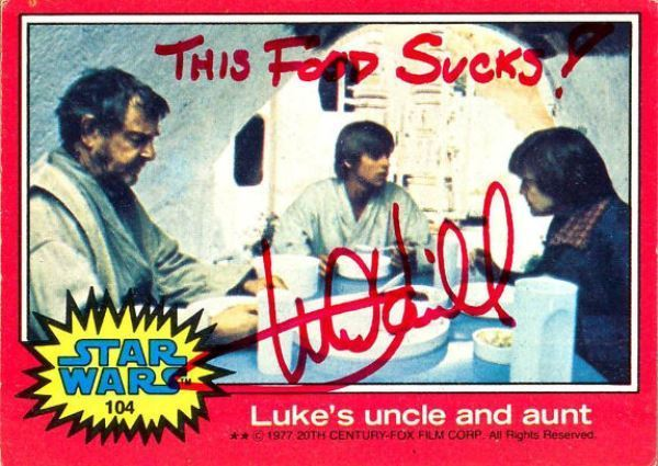 Star Wars Postcard