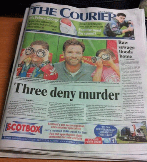 Three Deny Murder