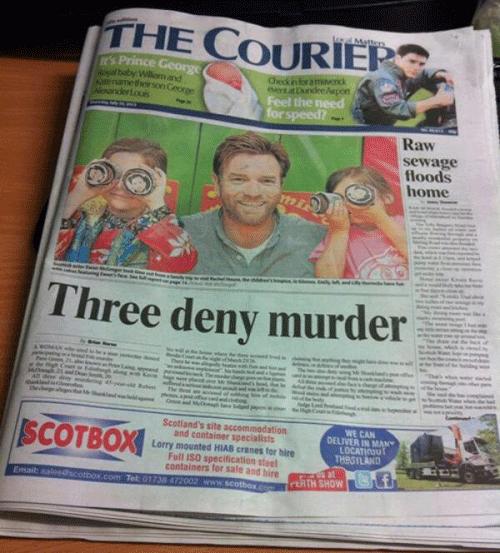 Three Deny Murder
