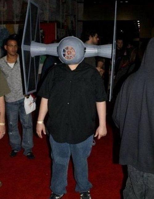 Tie Fighter Mask