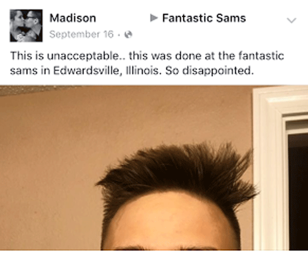 Unacceptable Haircut