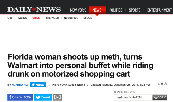 Absolutely Absurd Headlines From Florida