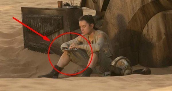 Star Wars Force Awakens Easter Eggs Rey Bread