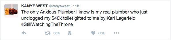 Anxious Plumber Toilet