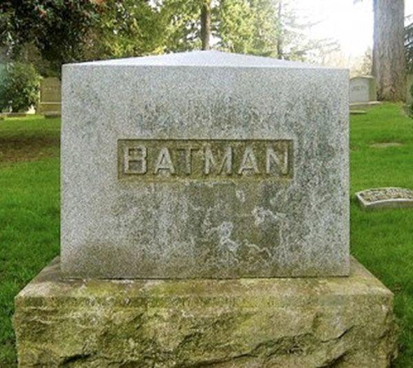 Batman Tombstone