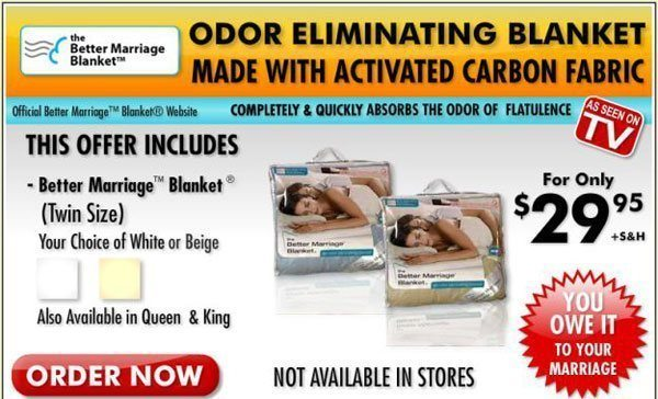 Better Marriage Blanket bad infomercial products