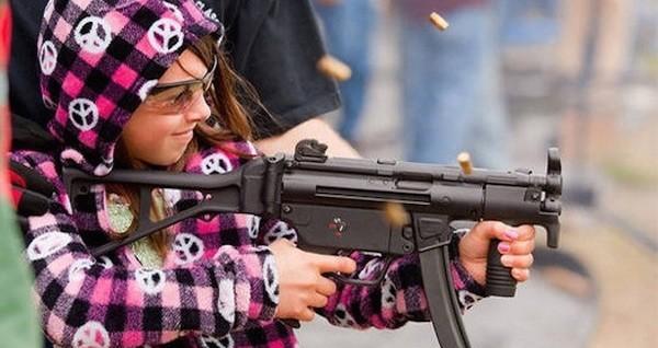 Children In Danger Girl With A Gun OG2