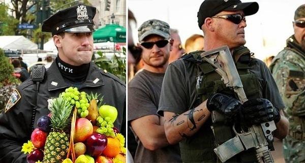 Cops Fruit Basket