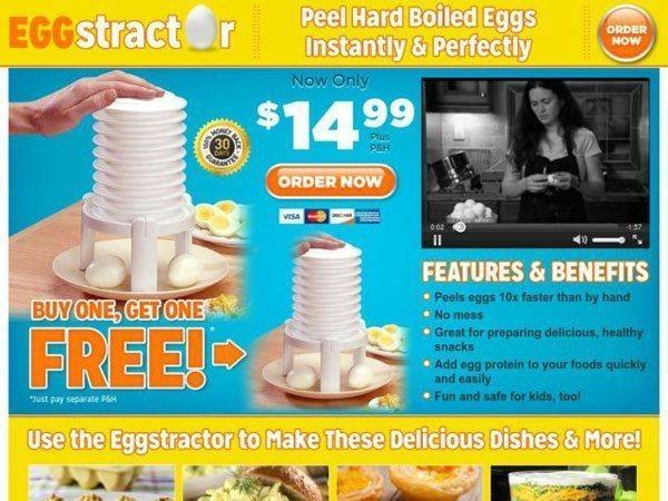 Eggstractor Informercial