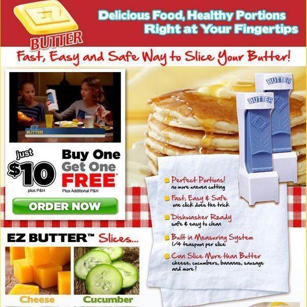 Ez Butter Infomercial