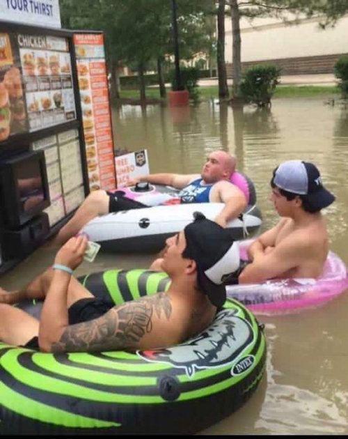 Flood Mcdonalds
