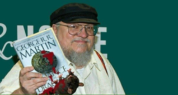 George R. R. Martin Crushing Rat