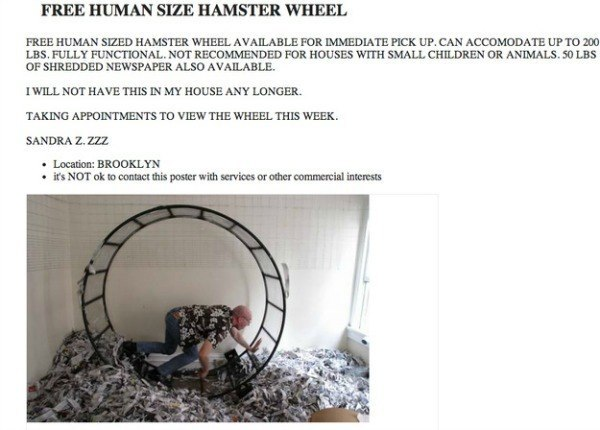 Funny Craigslist Ads: The 41 Most Absurd Postings Ever