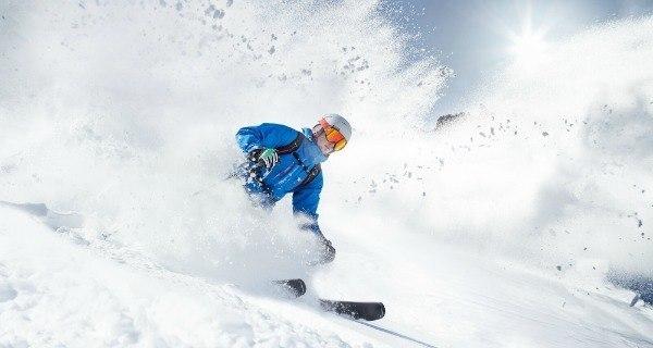 Intense Skiing