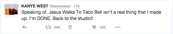 Jesus Walks Taco Bell