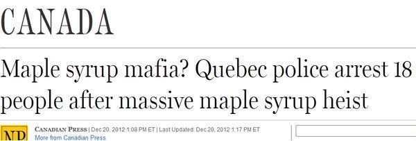 Maple Syrup Mafia