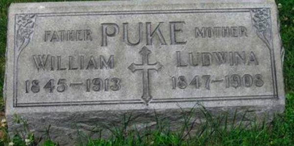 Puke Tombstone Funny